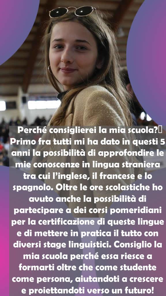 Carlino Stefania, 5A Linguistico