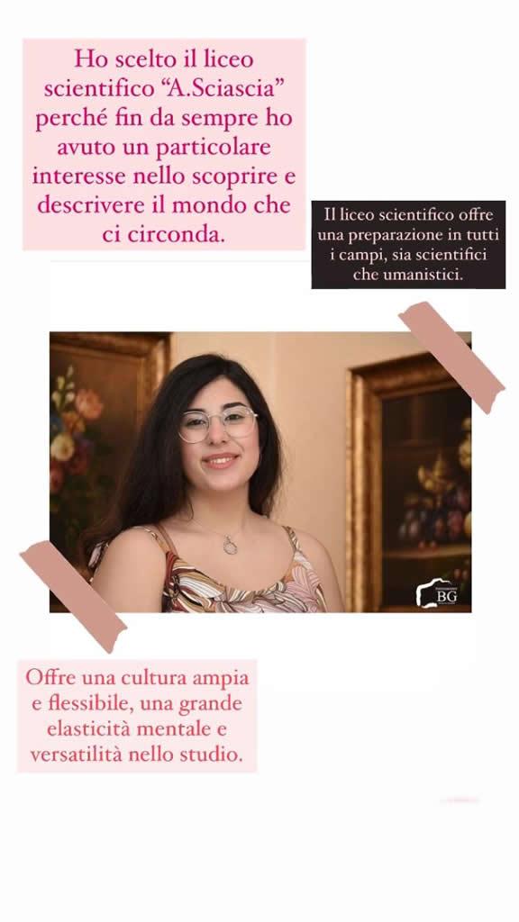 Maria Chiara Brancato 5D Scientifico