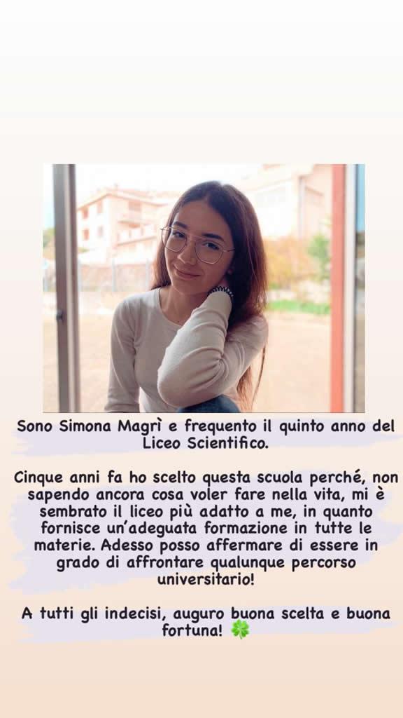 Simona Magri' 5Bs